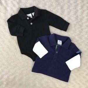 Old Navy Polo Shirt Bundle Koala Kids Black Blue